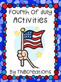 Independence Day Reading Comprehension Worksheets