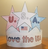 Fourth of July Hat Craft