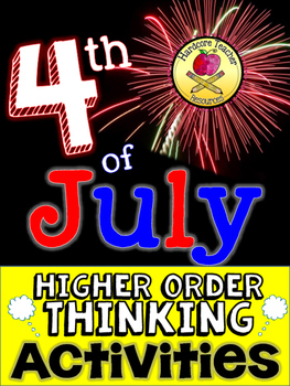Fourth of July Higher Order Thinking Activities