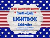 Fourth of July Lightbox Celebration