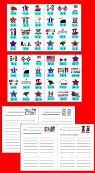 Fourth of July Math Activities-231 Subtraction Facts to 20 - Summer School