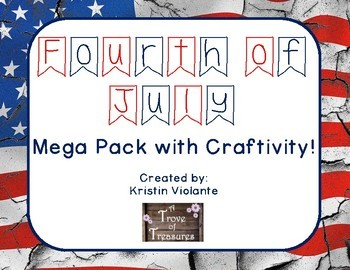 Fourth of July Mega Pack **With Craftivity**