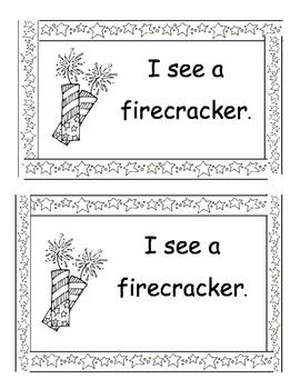 Fourth of July Mini Book