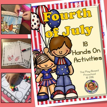 Fourth of July 18 Hands On Activities
