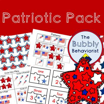 Patriotic Pack: Pre-K to K