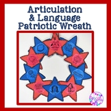 Memorial Day Patriotic Speech therapy Articulation and Language Activity