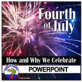 Fourth of July PowerPoint - 4th of July Independence Day