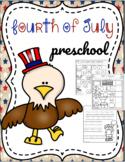Fourth of July Preschool Printables
