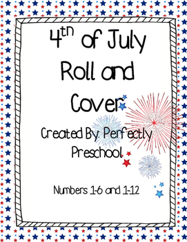 Fourth of July Roll and Cover {Dollar Deal}