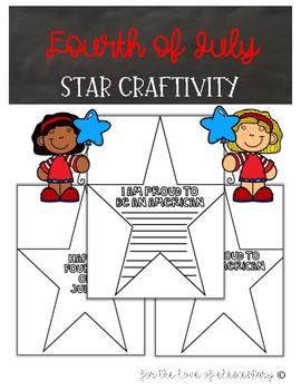 Fourth of July Star Craftivity