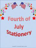 Fourth of July Stationery