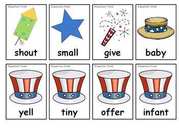 Patriotic Synonyms and Antonyms