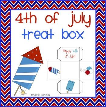 Fourth of July Treat Box {FREEBIE}
