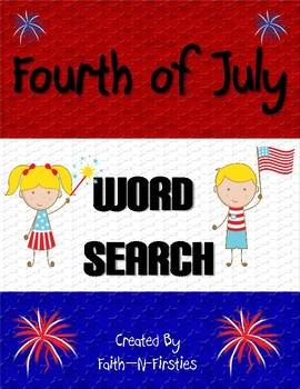 Fourth of July Word Search