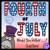 Fourth of July Would You Rather...? Questions