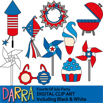Fourth of July clip art for July 4th activities