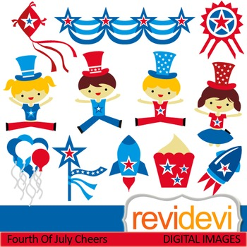 Fourth of July clipart - Independence Day clip art