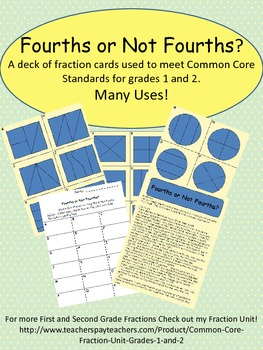 Fourths or Not Fourths?  A Common Core fraction game