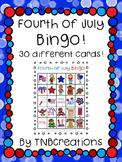 Fourth of July BINGO