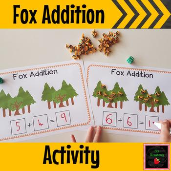 Fox Addition Activity