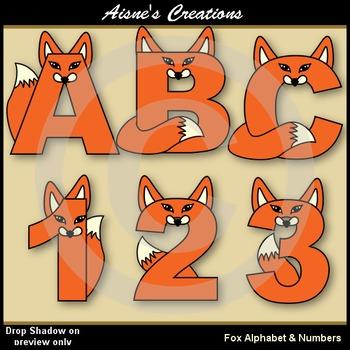 Fox Alphabet & Numbers