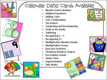 Fox Calendar Cards