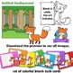 Fox Clip Art with Signs - Letter F in Alphabet Animals Series