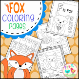 Fox in Socks Coloring
