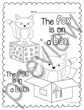 Fox In Socks Coloring