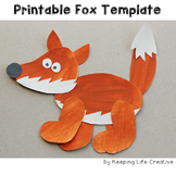 Fox Craftivity Template