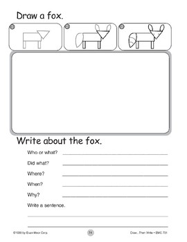 Fox (Draw...Then Write)