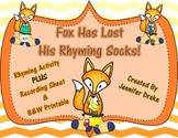 Fox Has Lost His Rhyming Socks!
