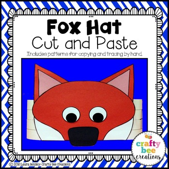 Fox Hat Cut and Paste