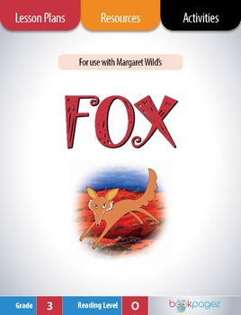 Fox Lesson Plans & Activities Package, Third  Grade (CCSS)