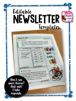 Fox Editable Newsletter Templates