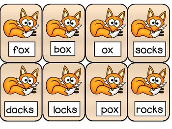 Fox & Socks- Orton Gillingham