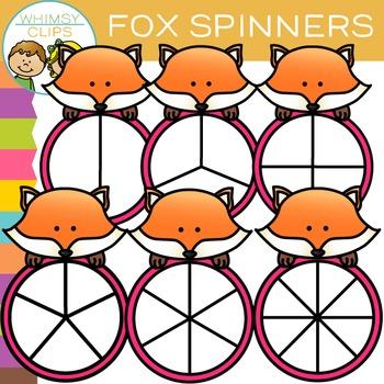 Fox Spinners Clip Art