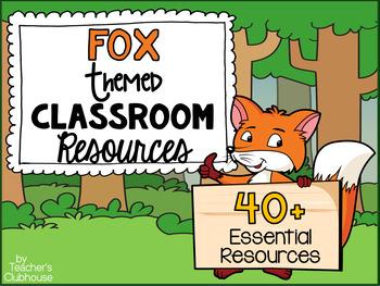 Fox Theme Decor Pack