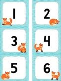 Fox Theme Numbers
