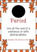 Fox Themed - Punctuation Posters