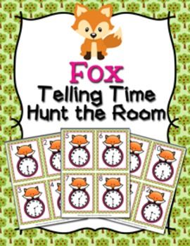 Fox Time to the Half Hour Hunt the Room