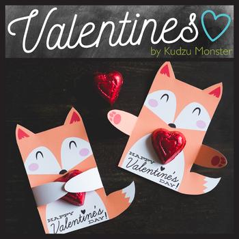 Fox Valentine Hugger