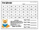 Fox Words - High Frequency Word Spelling Pattern Treasures