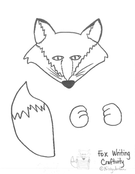 Fox Writing Craftivity- What Does The Fox Say?