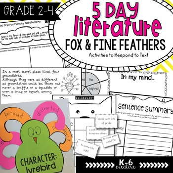 Fox and Fine Feathers Literature Activities