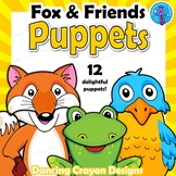 Fox and Friends Animal Puppets - BUNDLE