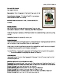 Fox and Friends Guided Reading Lesson Plan - Level J