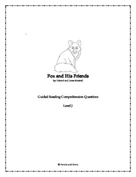 Fox and His Friends - Reading Companion