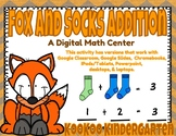 Fox and Sock Addition-A Digital Math Center