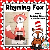 Fox and Socks Craft for Read Across America Week: March Craft